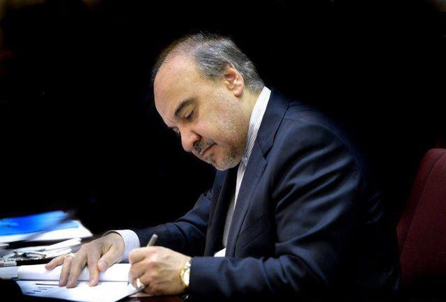 سلطانیفر رکوردشکنی طلایی کاروان پاراآسیایی را تبریک گفت