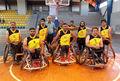 رقابتهای لیگ دسته یک بسکتبال با ویلچر در گروه ب برگزار شد