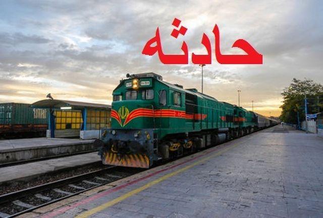 برخورد قطار با عابر پیاده در شریف آباد قزوین یک قربانی گرفت
