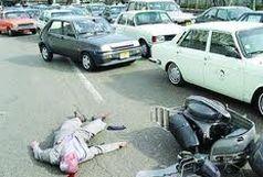 فوت 17 تن در سوانح رانندگی درون شهری همدان