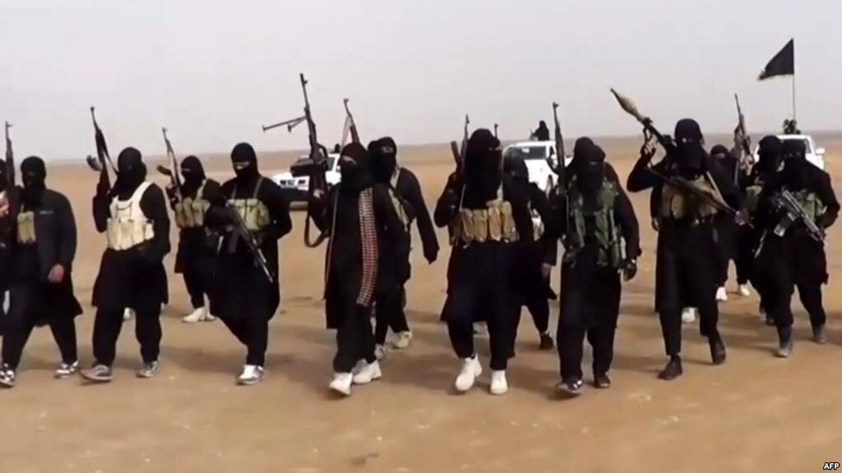 عناصر داعش و قسد سربازان آمریکا در سوریه