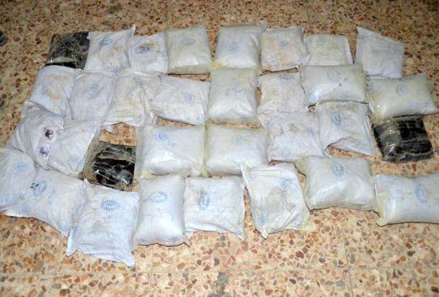 کشف 105 کیلو مواد افیونی در زاهدان