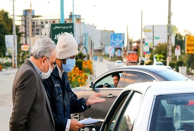 ممنوعیت تردد در محورهای مازندران/ کنترل خودروها در ۶ مبادی ورودی