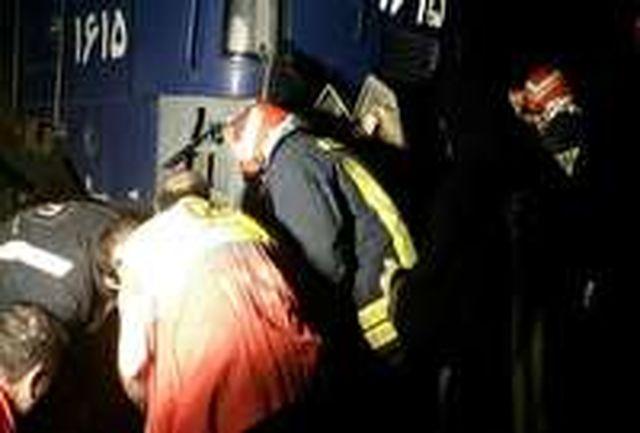 2 کشته در برخورد قطار با موتورسیکلت