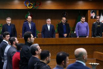 جلسه رییس کمیته ملی المپیک با روابط عمومی فدراسیون ها ورزشی