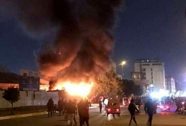 انفجار قوی در بغداد+جزییات