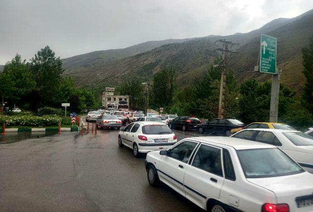آخرین وضعیت ترافیکی معابر اصلی تهران