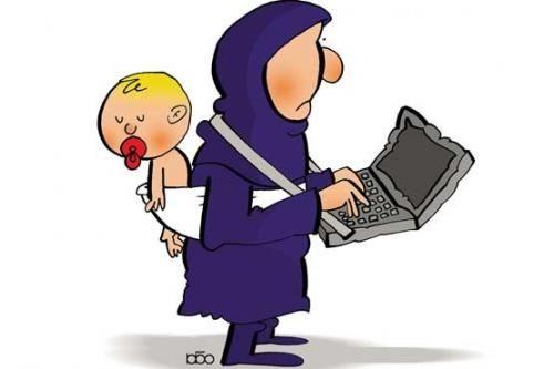 آیا شوهر میتواند مانع اشتغال زن شود؟/ تحت چه شرایطی از فعالیت زن در خارج از خانه جلوگیری میشود؟