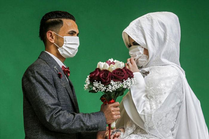 کرونا مانع ازدواج جوانان نیست