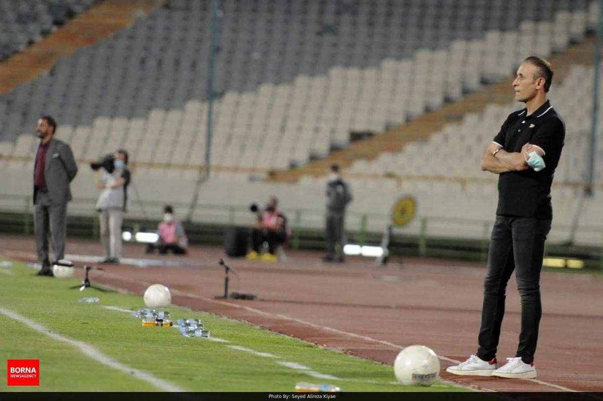 گلمحمدی: هر تیمی جای پرسپولیس بود شکست میخورد