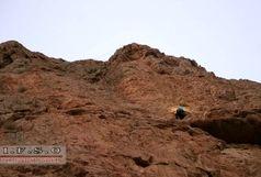 نجات مرد ۲۵ ساله از ارتفاعات کوه صفه