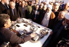 افتتاح نمایشگاه دستاوردهای هسته ای و موشکی در قزوین
