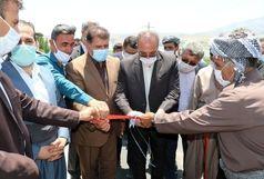افتتاح ۱۲ کیلومتر آسفالت از راههای روستایی پیرانشهر در قالب طرح ابرار