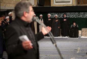 مراسم عزاداری شب عاشورای حسینی (ع) باحضور رهبر انقلاب