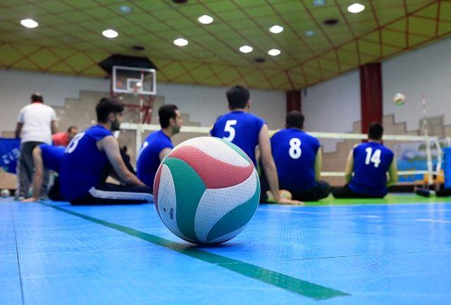 رقابتهای والیبال نشسته مجازی برگزار میشود