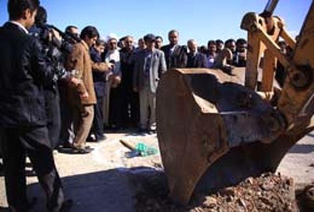عملیات اجرایی پروژههای آبرسانی به مسكن مهر قم آغاز شد