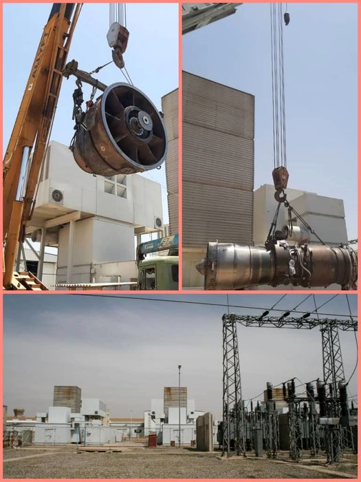 واحد شماره یک نیروگاه گازی هسا وارد مدار تولید شد