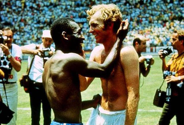 عکس جاودانه تاریخ فوتبال