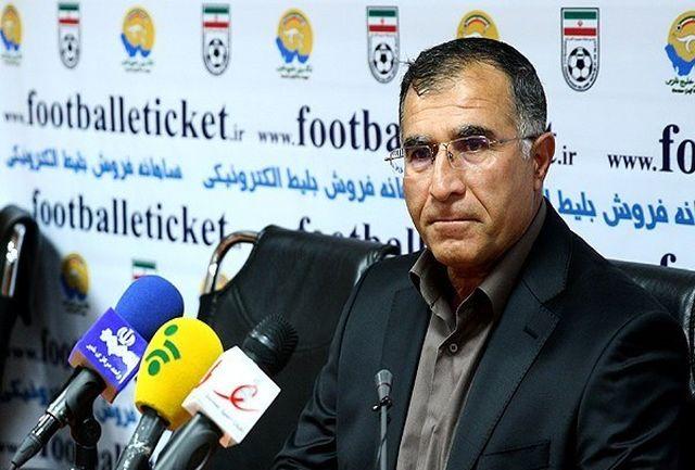 جلالی: منشا برای درآمد به فوتبال ایران آمد