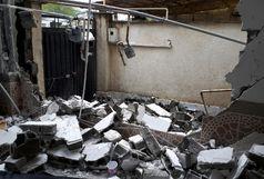 بر اثر نشت گاز4 خانه آپارتمانی تخریب شد