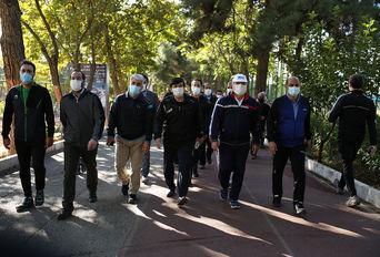 همایش پیاده روی مدیران و روسای فدراسیون ها