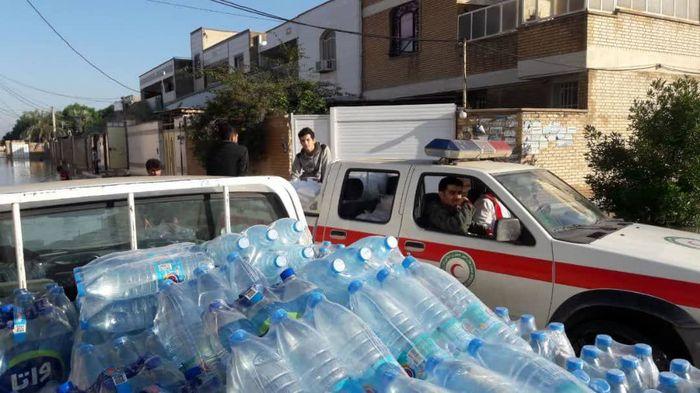ارسال چهارمین محموله امدادی خراسان جنوبی به سیستان و بلوچستان