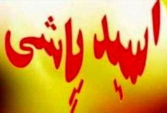 جزییات اسید پاشی در اتوبان پاسداران تبریز