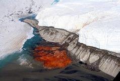 آبشارهای خون در قطب جنوب + عکس