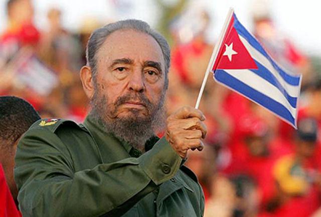 پیکر کاسترو سوزانده می شود