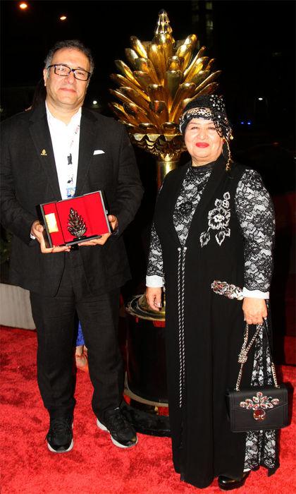 پوران درخشنده جوایز جشنواره فیلم سلیمانیه را اهدا کرد