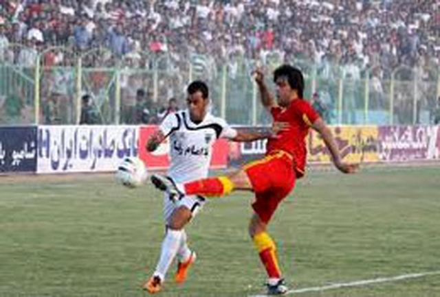 تیم پیروزی شیروان برابر همت گنبد به برتری دست یافت