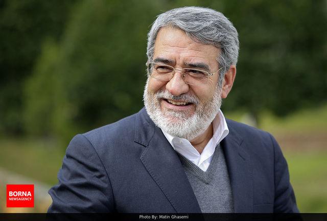دکتر رحمانی فضلی با استقبال رسمی وزیر کشور تاجیکستان وارد دوشنبه شد