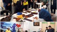 بازدید جانشین مدیر کل بهزیستی گلستان از کارگاه تولید کیف چرم طبیعی انجمن معلولین جسمی