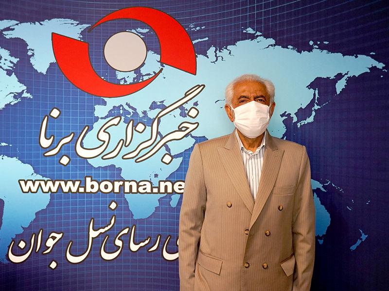 """حضور """" محمد غرضی """" در خبرگزاری برنا"""