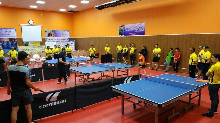 برگزاری دوره های بازآموزی مربیگری تنیس روی میز در مشهد