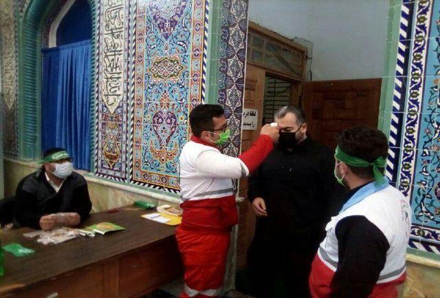 تشریح خدمات جمعیت هلال احمر به عزاداران اربعین حسینی در ۱۶ شهرستان گیلان