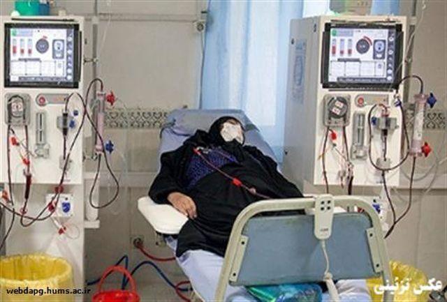 راه اندازی بخش اختصاصی کووید 19 ویژه بیماران دیالیزی در میناب