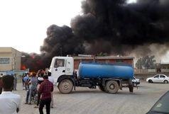 19 کشته در آتشسوزی تصادف اتوبوس و تانکر سوخت