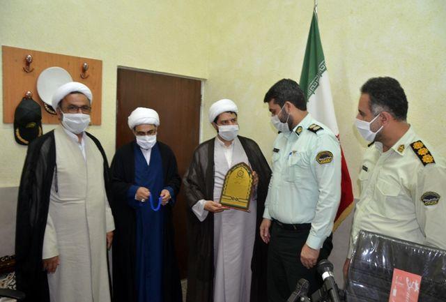 آئین تودیع و معارفه رئیس عقیدتی سیاسی فرماندهی انتظامی شهرستان لاهیجان