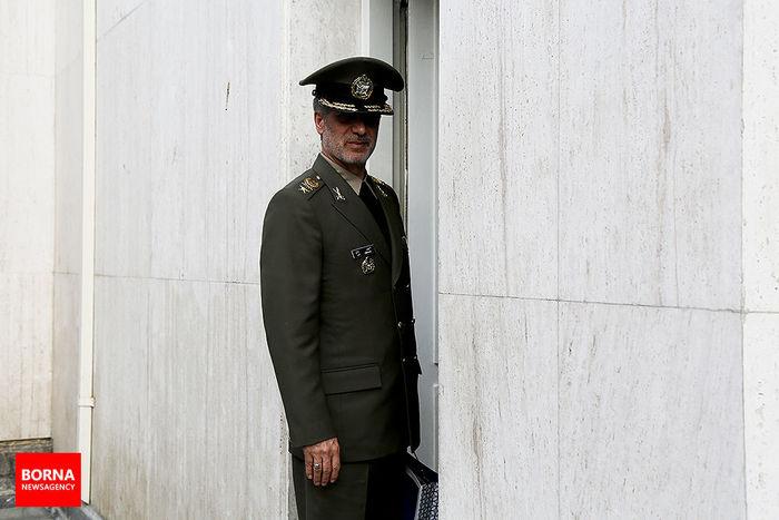 توضیحات قالیباف درباره جزییات جلسه غیرعلنی مجلس با حضور وزیر دفاع