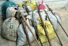 دستگیری متخلفین قاچاق گیاهان مرتعی