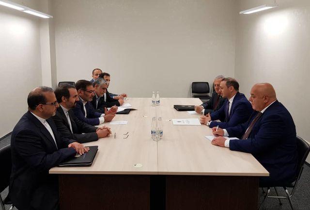 مشاور امنیت ملی ارمنستان با شمخانی دیدار کرد