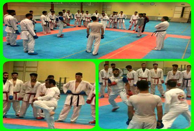 گلستان میزبان سومین مرحله اردو تیم ملی امید کاراته کشور