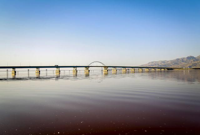 اقدامات ستاد احیا موجب توقف خشکی دریاچه ارومیه شد