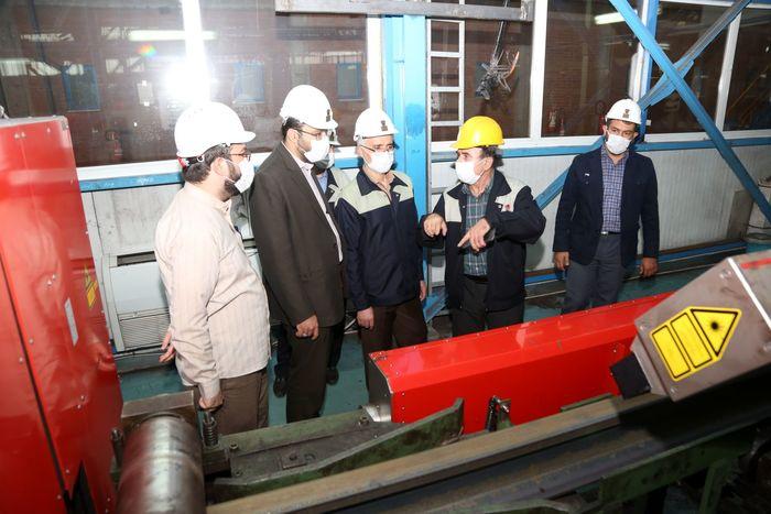 ذوب آهن اصفهان با  تکنولوژی مدرن ، ریل مورد نیازکشور را تامین می کند