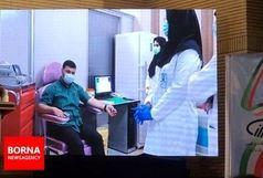 تزریق آزمایشی واکسن رازی کووپارس به اولین داوطلب انجام شد