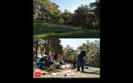 سیزده به در - پارک جنگلی شیان تهران