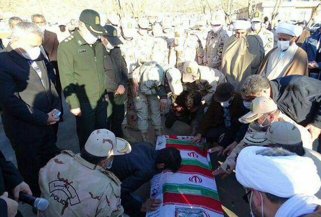 شهادت یک مرزبان غیور در کردستان