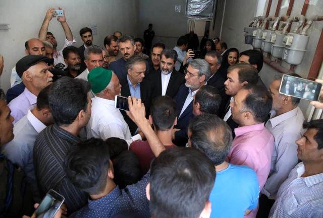 بازدید سرزده وزیر کشور از حاشیه شهر مشهد