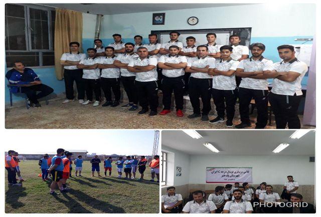 شروع کلاس مربیگری درجه C فوتبال ایران در شهرستان پلدختر